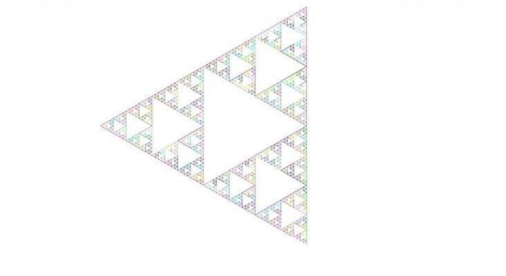 A simple Lindenmayer system based fractal